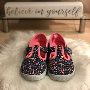Carter's girls floral shoes